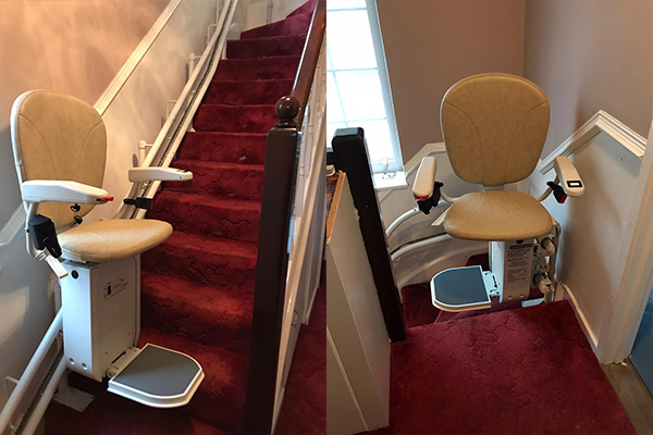 Platinum Curve Stairlift Install